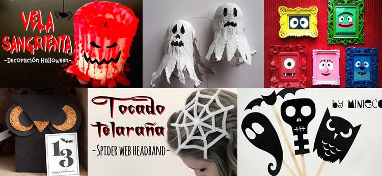10 Manualidades de Halloween fáciles y originales