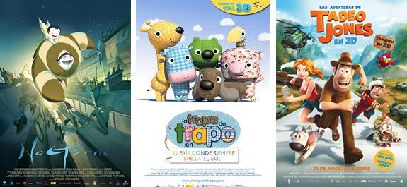 10 películas españolas de animación para niños que no te puedes perder