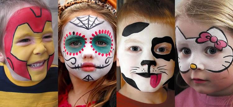 15 ideas de maquillaje infantil para tu disfraz de Carnaval