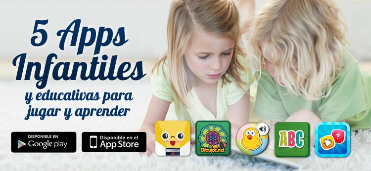 5 apps infantiles y educativas para aprender jugando
