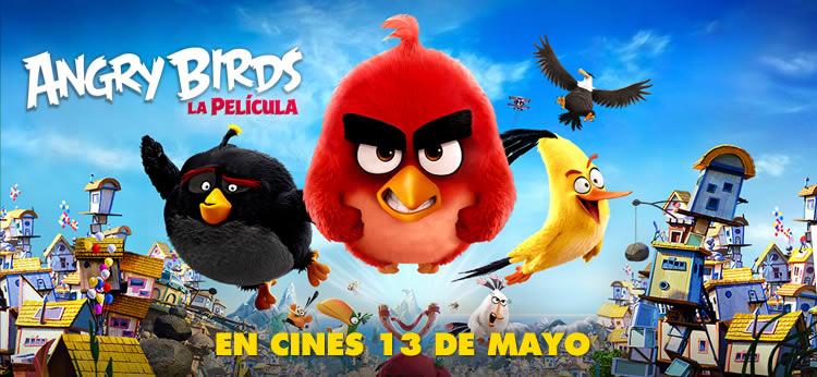 'Angry Birds, la película' llega a los cines españoles el próximo 13 de Mayo de 2016