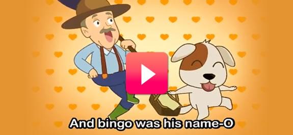 Aprendemos inglés con BINGO y su canción