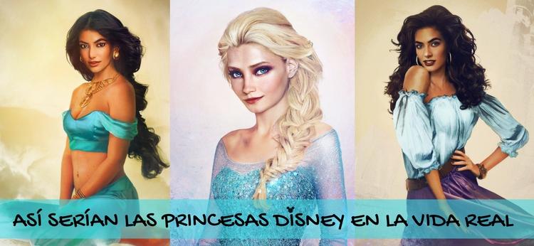 Así serían las princesas Disney en la vida real