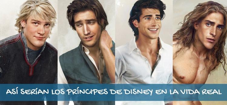 Así serían los príncipes Disney en la vida real