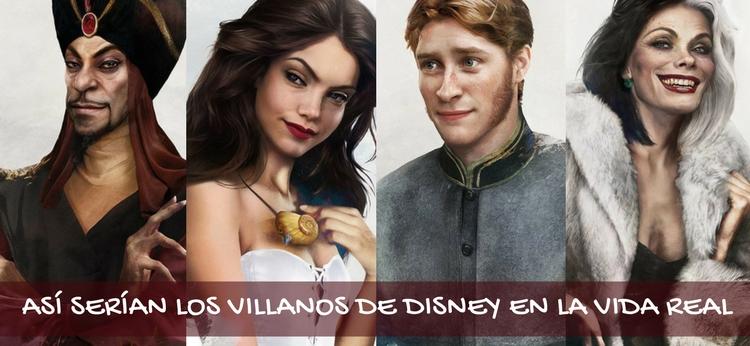Así serían los villanos de Disney en la vida real