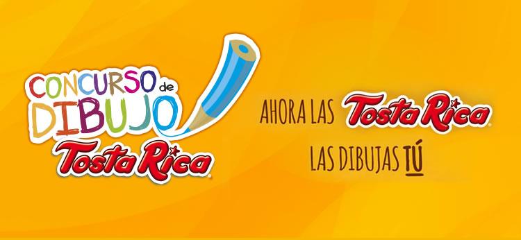 ¡Concurso TostaRica! Crea los nuevos dibujos para sus galletas  y podrás ganar fantásticos premios