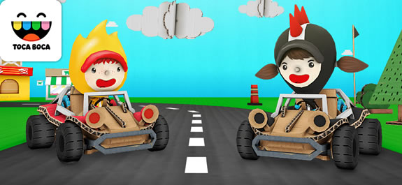 Descubre Toca cars, una App para divertirte conduciendo