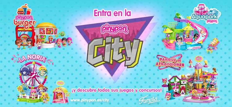 ¡Descubre todas las sorpresas que te esperan en la Pinypon City!