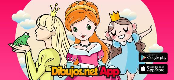 Entra en un mundo de cuento con la App de Dibujos de Princesas de Dibujos.net
