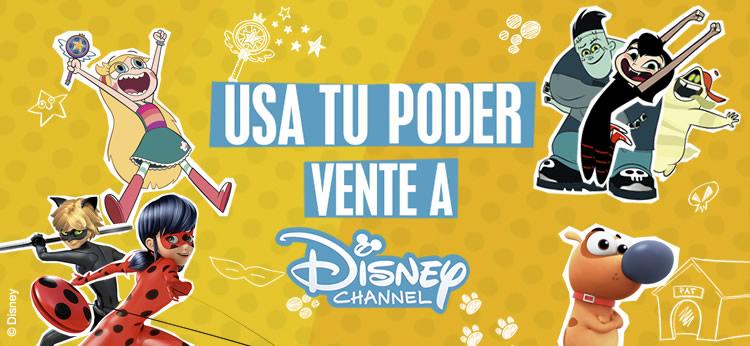 Este Otoño, todo el poder de Disney Channel está en tus Manos