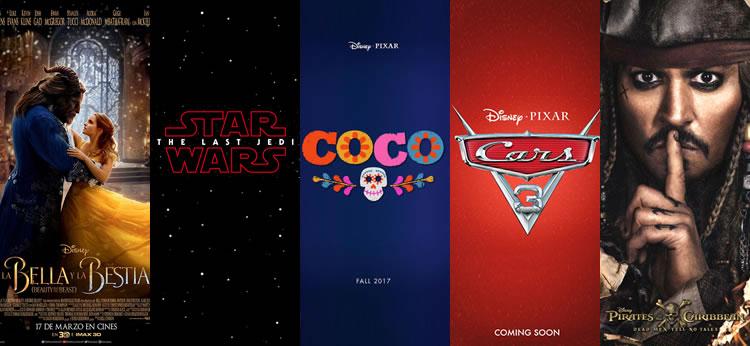 Estrenos Disney para este 2017
