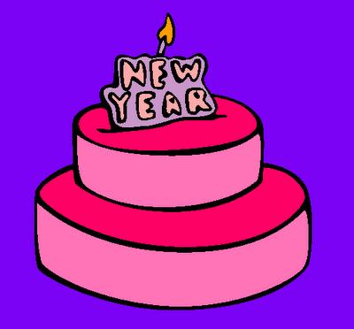 ¡Feliz año nuevo, Pequeños artistas!