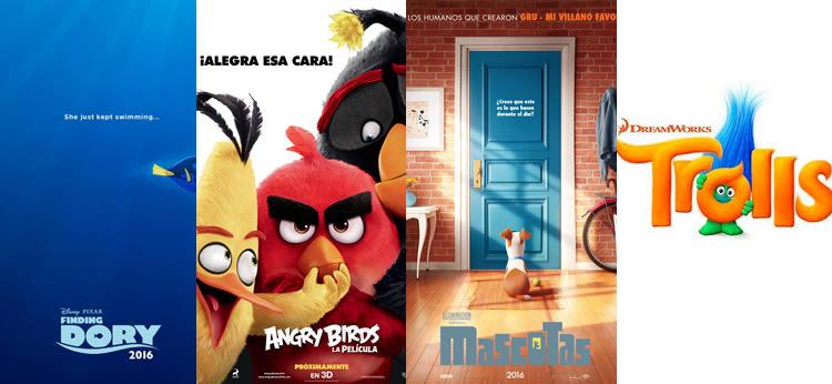 Los 6 estrenos de animación más esperados de 2016
