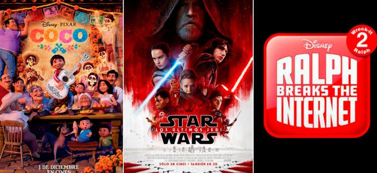 Los estrenos Disney más esperados para este fin de 2017 y principios de 2018