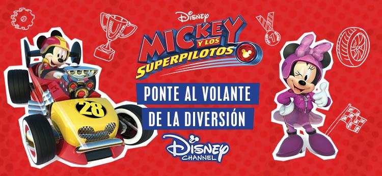 Mickey y los Superpilotos todos los días en Disney Channel
