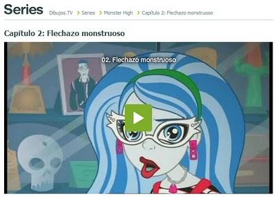 ¡Monster High aterriza en Dibujos.tv!