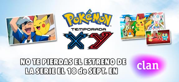 'Pokémon XY' estrena temporada este 18 de septiembre en Clan