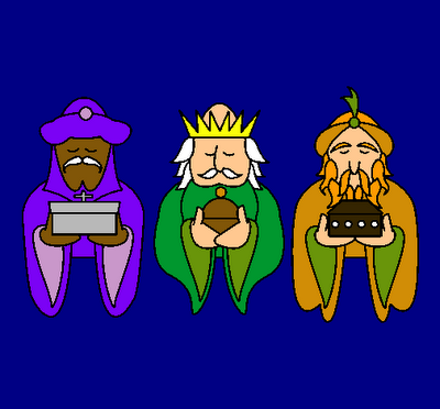 ¡Que ya vienen los Reyes Magos, Pequeños artistas!