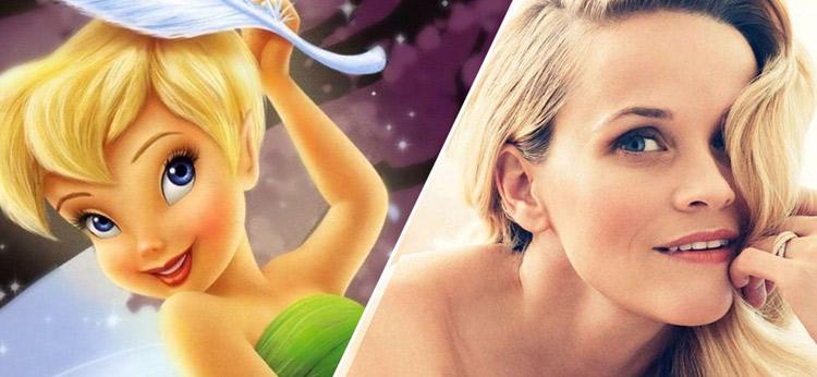 Reese Witherspoon hará de Campanilla en una peli de acción real