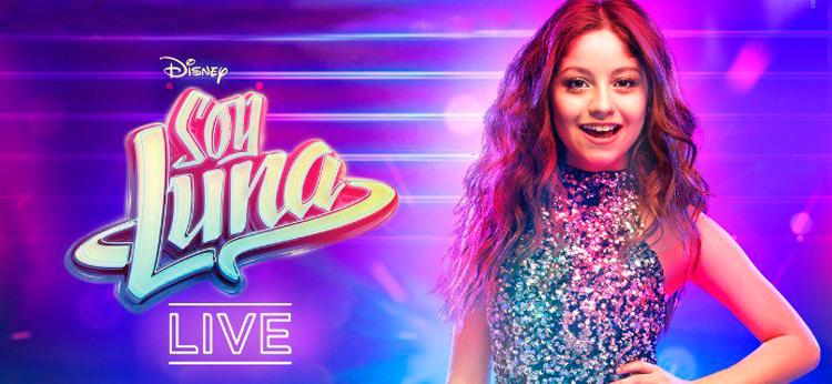 Soy Luna Live llega a España en Enero de 2018