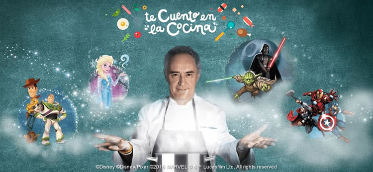 Te cuento en la cocina, descubre la cocina mágica de Disney y Ferran Adrià