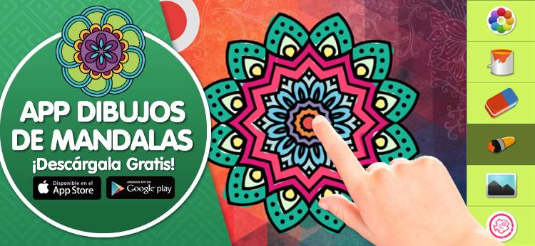 Te presentamos la App de Dibujos de Mandalas de Dibujos.net