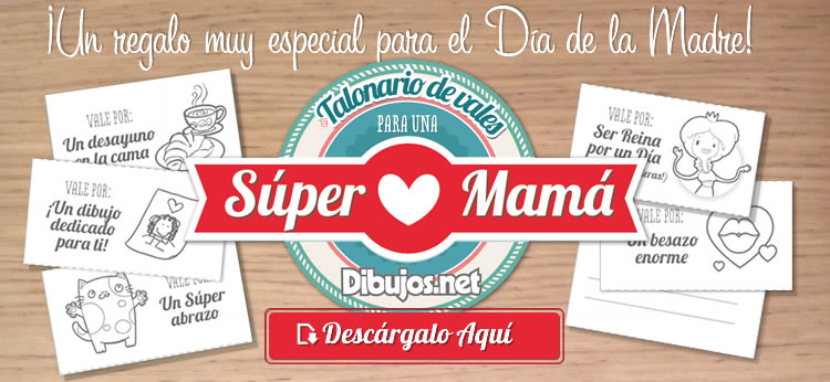Vales regalo para una Súper Mamá, el mejor regalo para el Día de la Madre