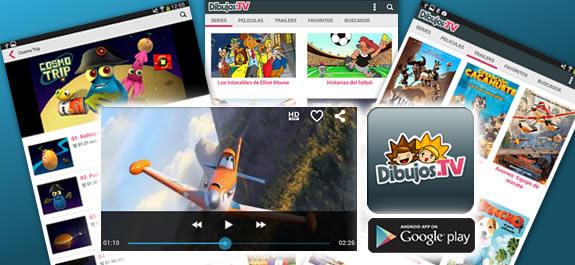¡Ya puedes descargarte la App de Dibujos.tv para móviles y tablets!