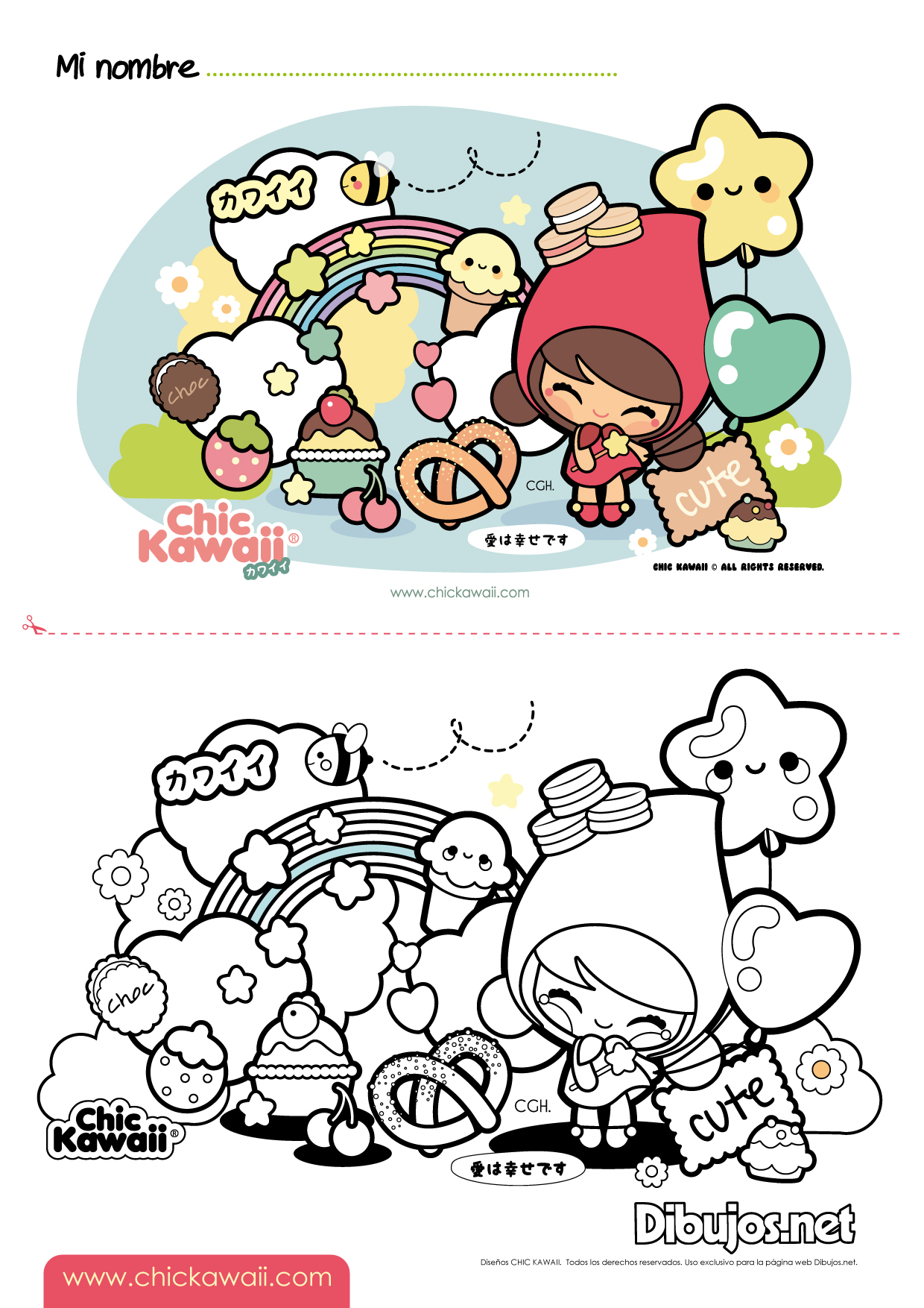 1000 Ideas About Nurie Kawaii Coloring On Pinterest