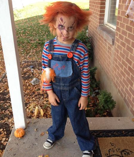 Disfraces de Halloween para nios que dan miedo de verdad