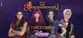 Los Descendientes 2 se estrenará en Disney Channel este próximo 7 de Octubre