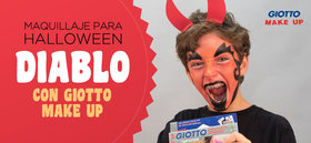 Maquillaje para Halloween: Diablo con Giotto Make Up
