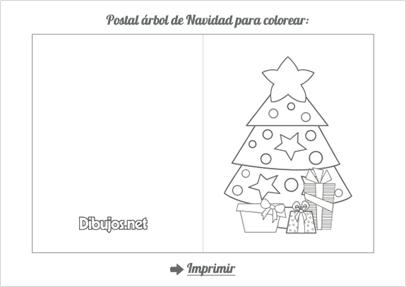 Arbol Navidad Colorear. Excellent Interesting Elegant Patrn De Libro ...