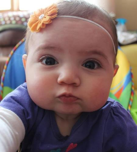 selfie bebé