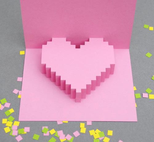 Manualidad: 5 tarjetas de San Valentín DIY fáciles, bonitas y ...