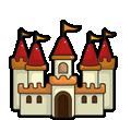 Dibujos de Castillos para colorear