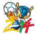 Dibujos de Mundial de Fútbol 2014 para colorear