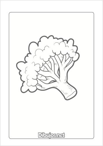10 Dibujos de verduras para imprimir y colorear  Dibujosnet