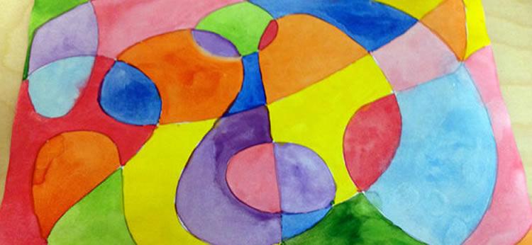 Cómo crear mi primera obra de arte abstracta