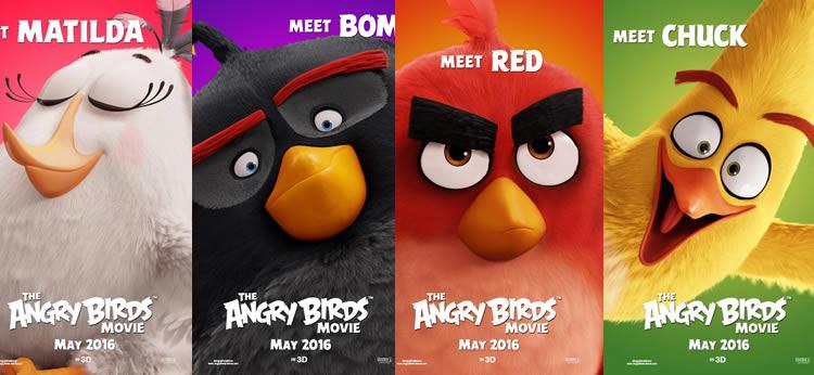 ¿Qué personaje de la película Angry Birds te gusta más?