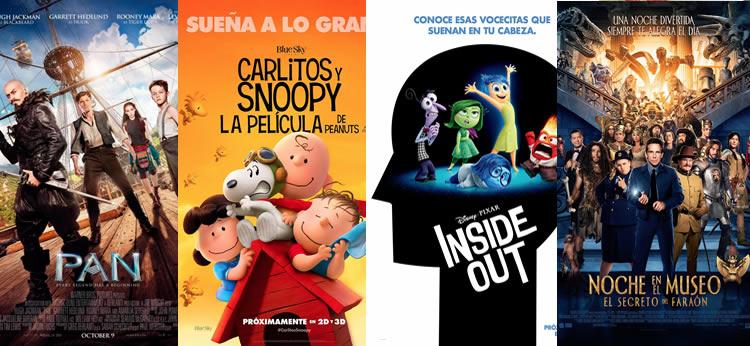 Las mejores 10 películas para niños del 2015