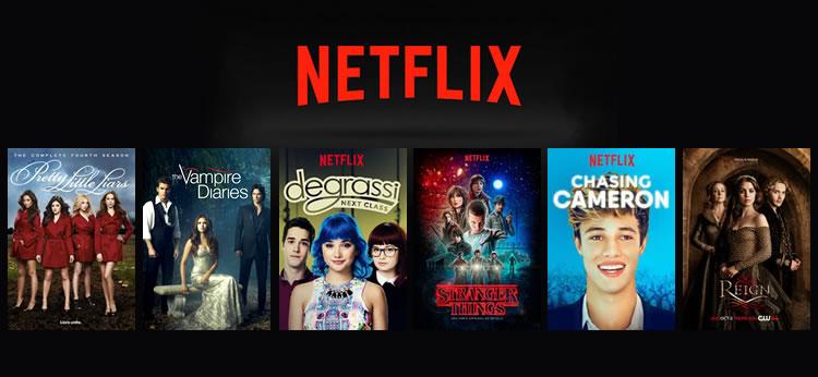 Las mejores Series Juveniles de Netflix