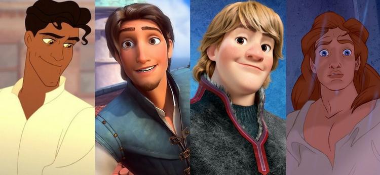 Los mejores príncipes de Disney