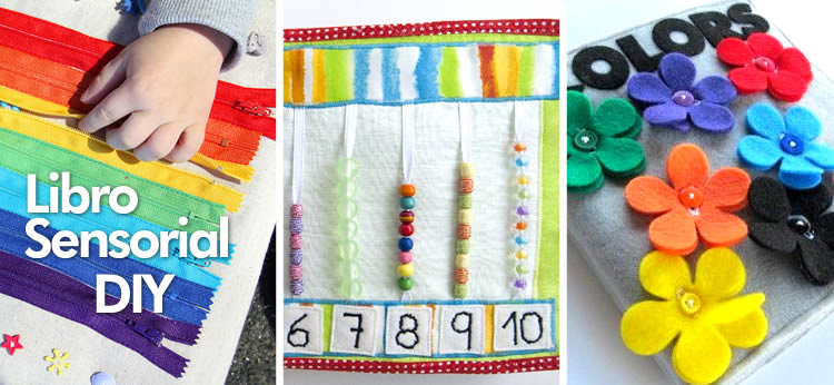 d23d14b33b99 Manualidad  10 Ideas para crear tu propio Libro sensorial DIY