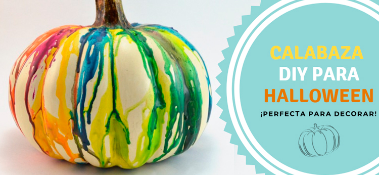 Calabaza DIY para Halloween