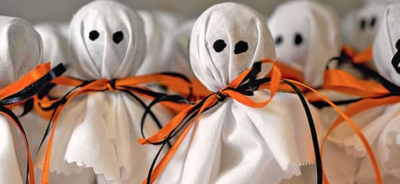Chupa Chups fantasma para Halloween