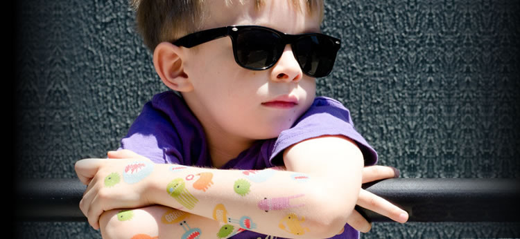 Como hacer calcomanías caseras para niños