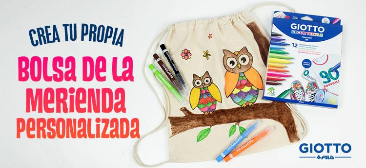 Crea tu propia mochila de tela personalizada
