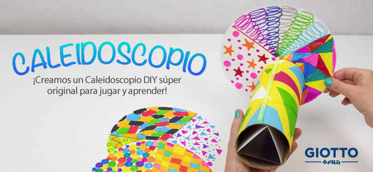 Crea tu propio Caleidoscopio DIY
