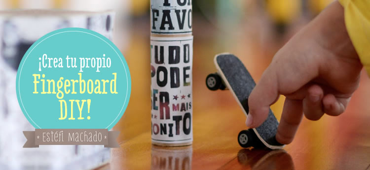 Creamos un fingerboard tech deck DIY hecho en casa